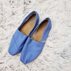 Toms Womens Blue Loafer Shoes